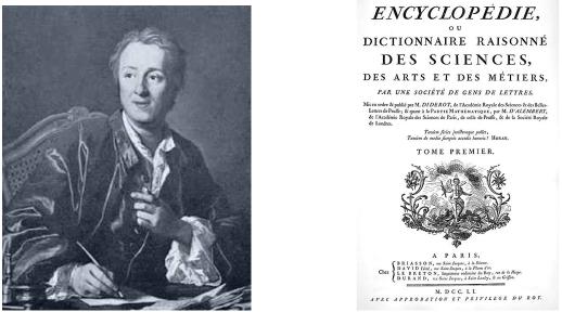 Diderot und seine Enzyklopädie