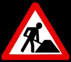 Baustelle-weiss