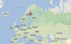 Umeå-Google Maps