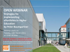 Open Webinar: Strategies for Implementing ePortfolios in Higher Education