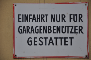 Garagenbenutzer