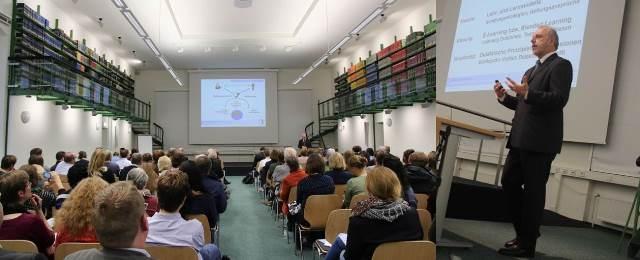"""""""Lehre auf neuen Wegen"""": Vortrag an der Universität Göttingen, November 2015"""
