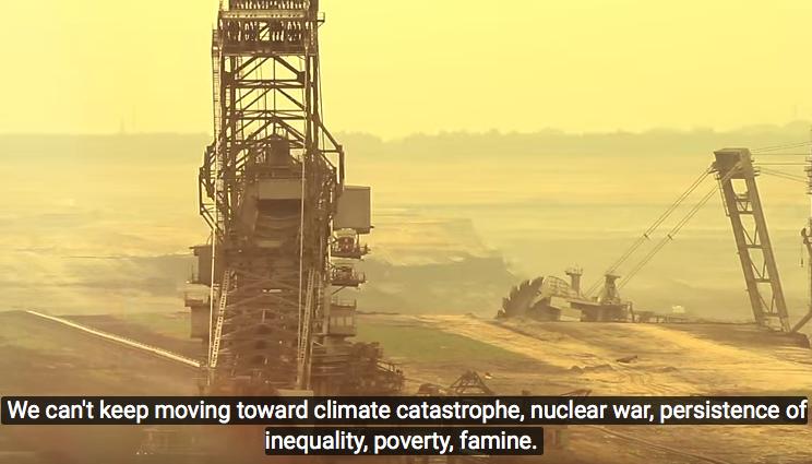 Ein Bild des Eröffnungsvideos aus thenextsystem.org