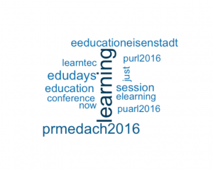 WordCloud von @TGrubermuecke