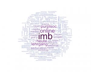 Wordcloud von @imb_duk