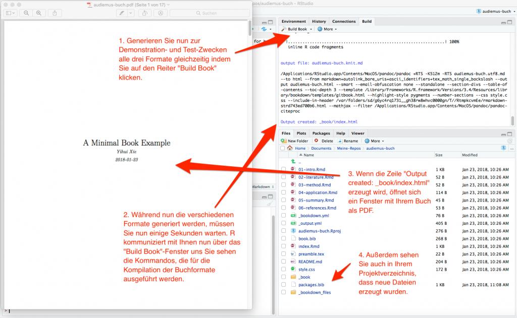 screenshot: Alle drei Buchformate gleichzeitig generieren