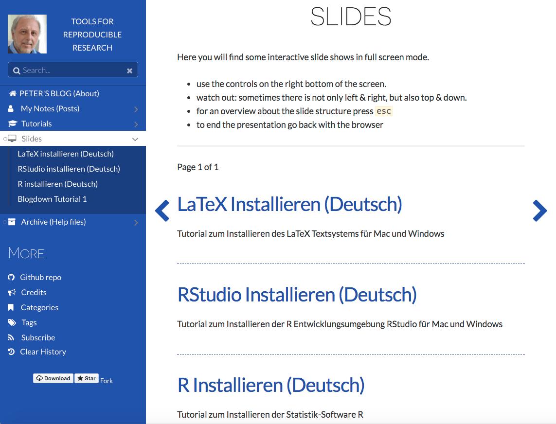CMP-01: Installation von R, RStudio und LaTeX