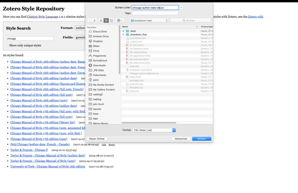 CMP-06: Installation der csl-Datei in einem bookdown-Buchprojekt