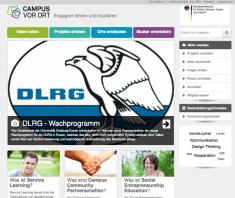 Engagiert lehren und studieren mit der Webeseite: Campus-Vor-Ort.de